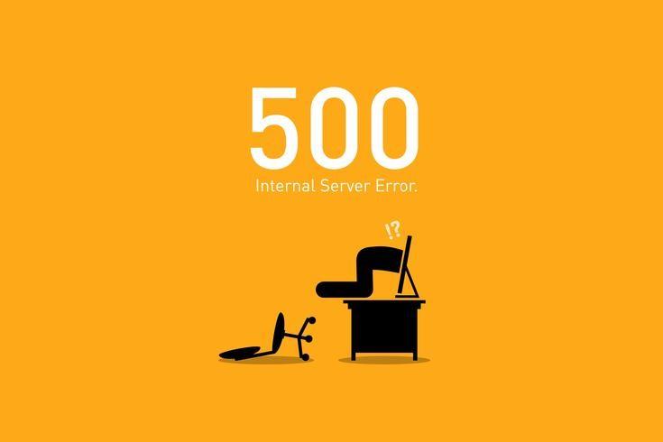 Có Nhiều cách thể hiện lỗi Error 500